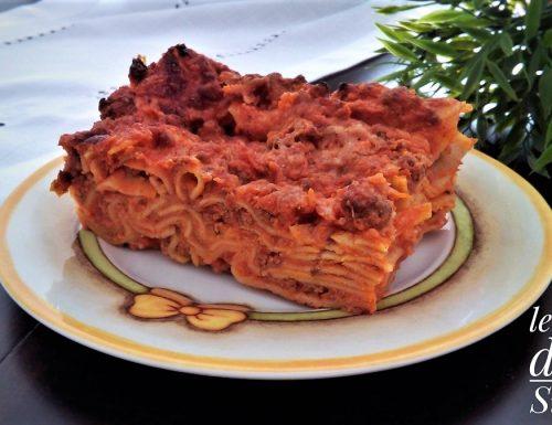Lasagne al ragù saporite
