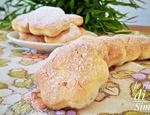 Biscotti alla panna 3 ingredienti senza burro e senza uova