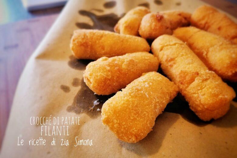 Crocchè di patate filanti