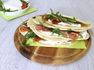 Piadina romagnola senza strutto