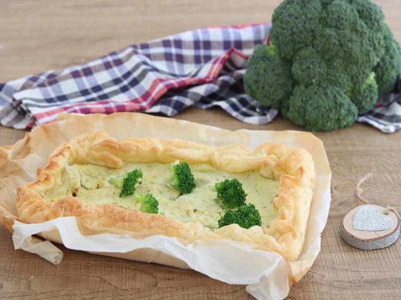 Torta rustica ai broccoletti