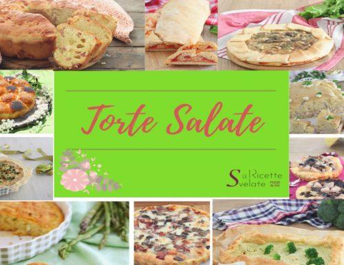 Torte salate per tutti i gusti