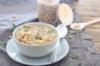 zuppa di ceci con patate