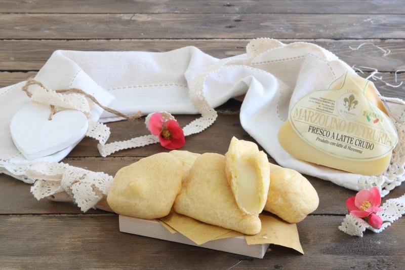 marzolino d'etruria fritto in pastella