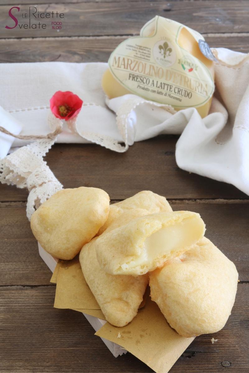 formaggio marzolino fritto in pastella