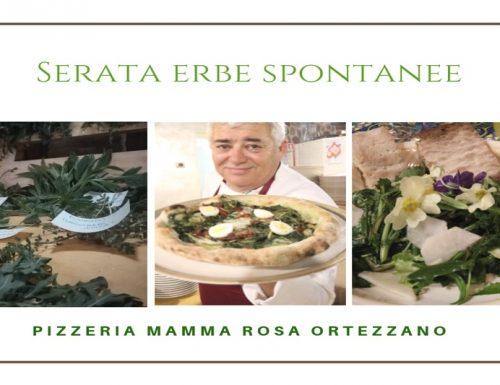 Serata Erbe Spontanee- Pizzeria Mamma Rosa-Ortezzano