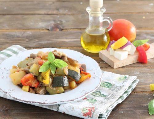 Frecandó di verdure-Ratatouille