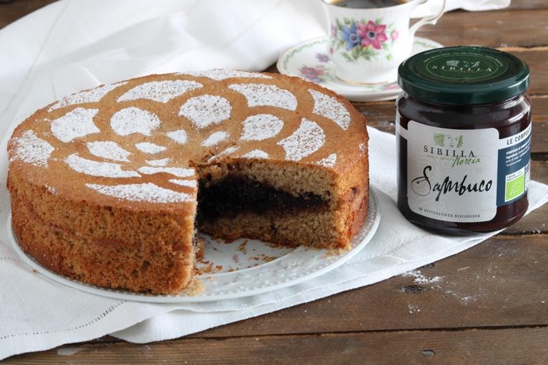 torta versata al grano saraceno