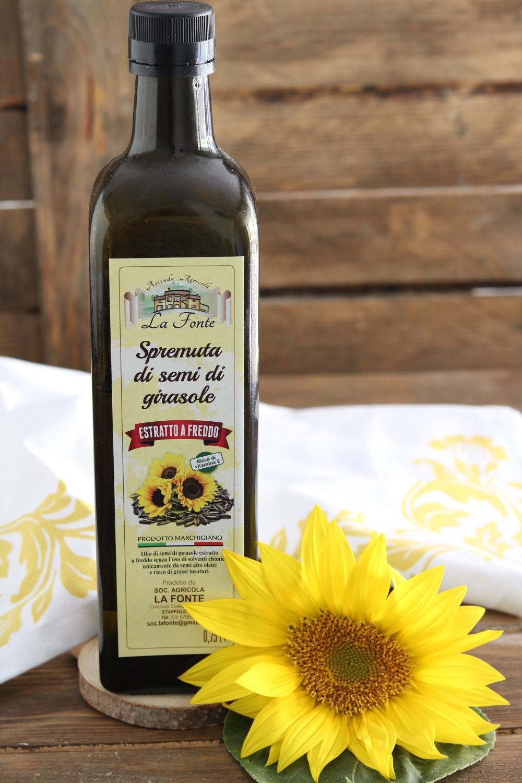 olio di semi di girasole alto oleico