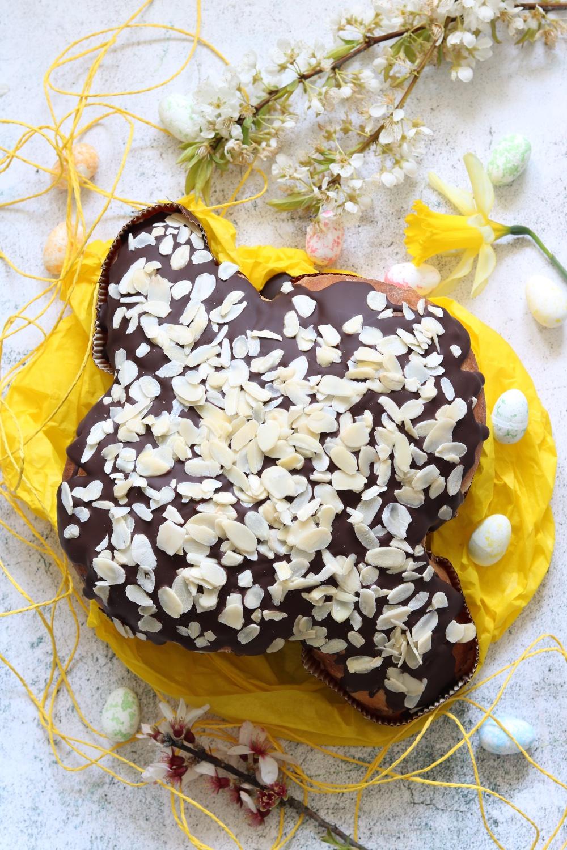colomba pasquale pere e cioccolato