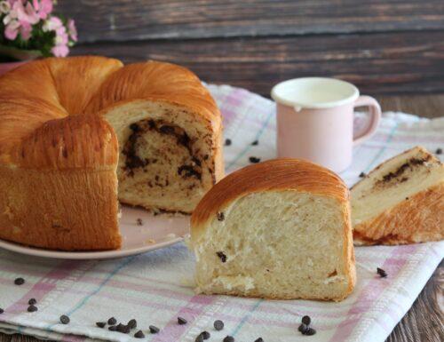Wool roll bread- Brioche a gomitolo