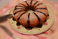 Bundt Cake all' Arancia🍊con glassa al Cacao.