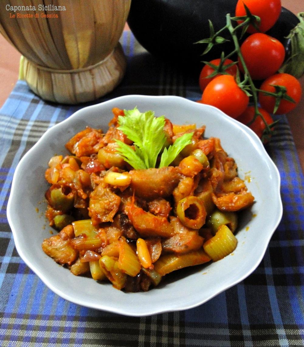 caponata melanzane sicilia