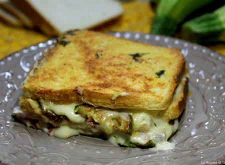 Lasagne di pancarrè filanti con zucchine e prosciutto – Con video ricetta