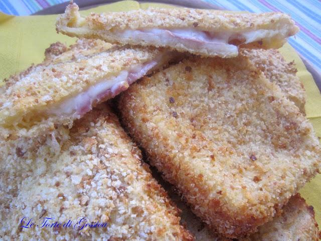 Mozzarelle in carrozza al forno le ricette di gessica for Ricette mozzarella in carrozza al forno