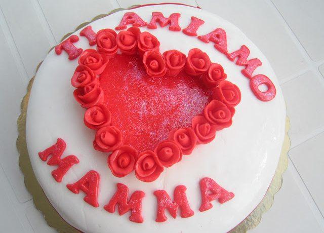 """Torta """" Ti amiamo mamma"""""""