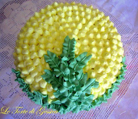 Crostata mimosa al limone – Torta Festa della Donna
