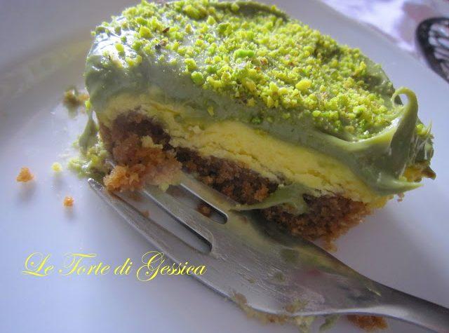 Mini Cheesecake al pistacchio