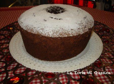 Chiffon Cake al cioccolato ( ciambellone americano )