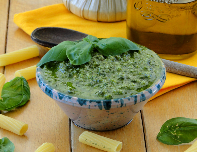 pesto basilico fatto in casa bimby senza aglio