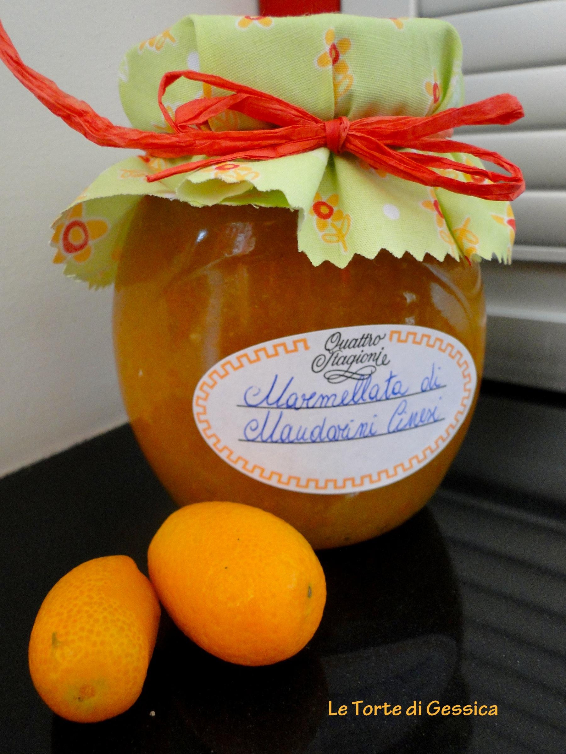 Marmellata di Kumquat - Mandarini Cinesi  Con Bimby e senza