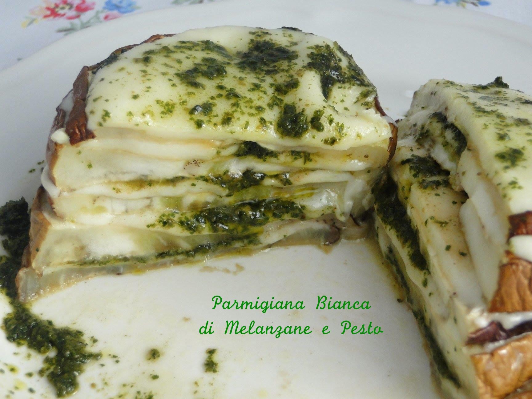 Parmigiana di Melanzane Bianca e Pesto | Le Ricette di Gessica