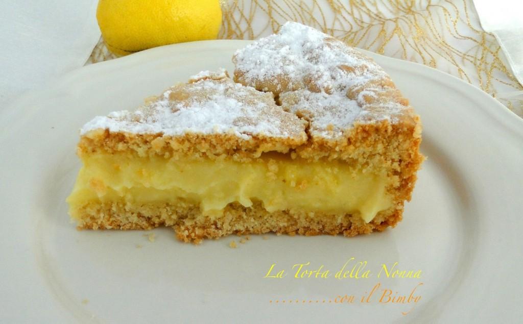 Torta della nonna ricetta bimby le ricette di gessica for Ricette bimby torte