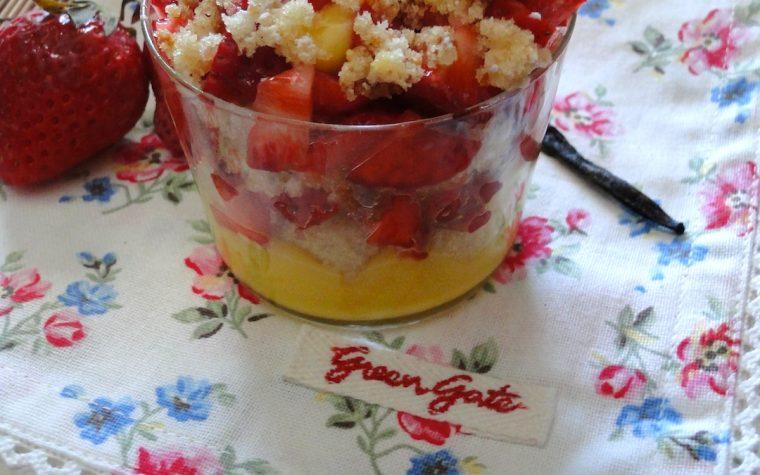 Coppe Mimosa alla Fragola