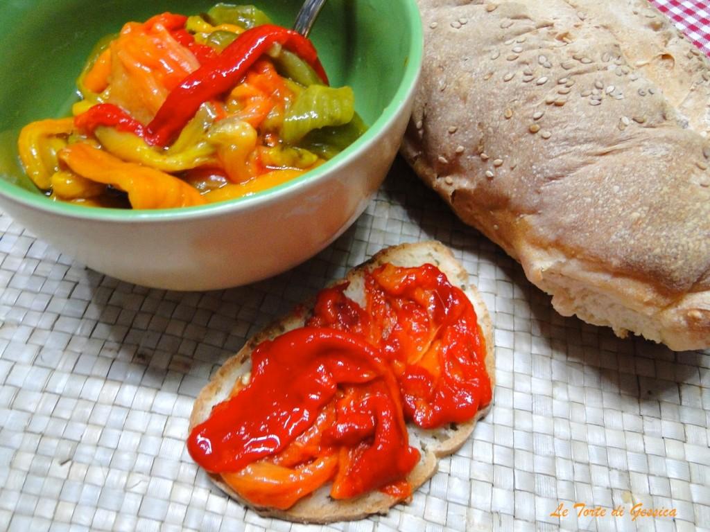 Peperoni arrosto cotti al microonde cottura veloce le for Microonde ricette