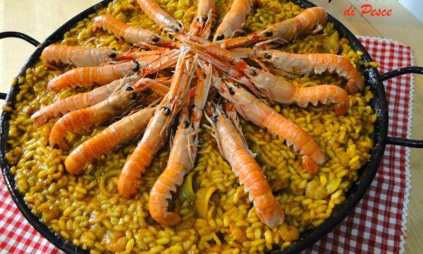Paella De Marisco – primo piatto spagnolo con pesce