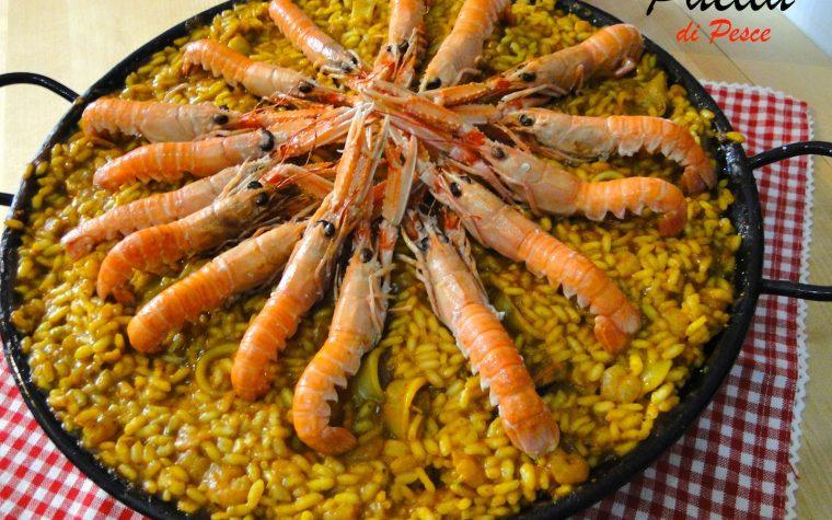 Paella De Marisco - primo piatto spagnolo con pesce