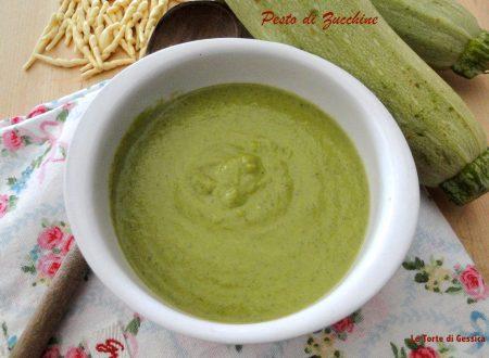 Pesto di zucchine – Ricetta con e senza Bimby