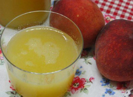 Succo di Frutta Bimby – pesca, albicocca, pera, mela