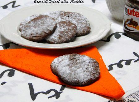Biscotti alla Nutella Veloci – Ricetta con e senza Bimby