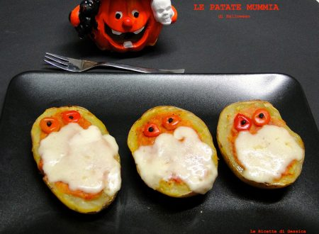 Patate Mummie – Ricetta di halloween