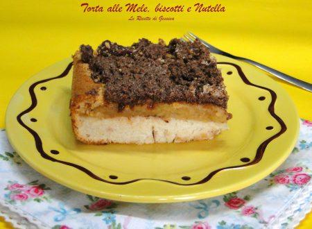 Torta di Mele, Biscotti e Nutella – Con e senza Bimby