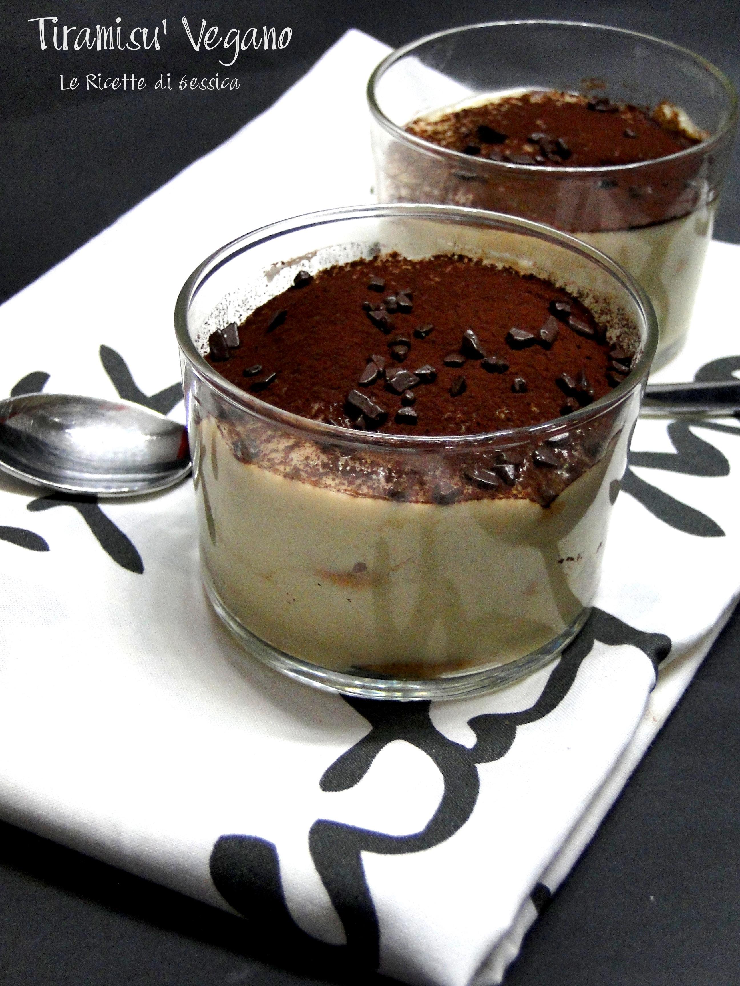 Tiramisu Vegan Ricetta Giallo Zafferano.Tiramisu Vegano Senza Mascarpone Uova E Latte Le Ricette Di Gessica