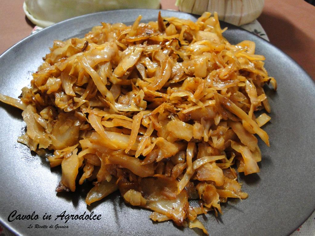 Cavolo cappuccio alla siciliana in agrodolce le ricette - Cucinare il cavolo ...