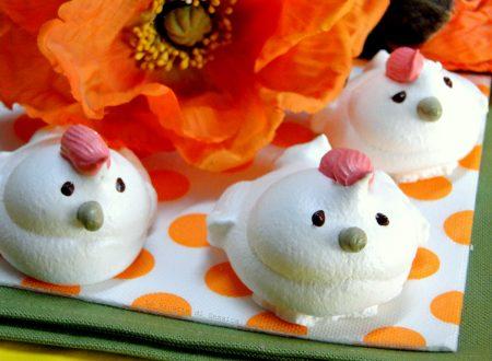 Pulcini di meringa o Galline – Ricetta dolce di Pasqua