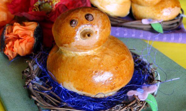 Pulcini di pasta Brioche – Ricetta di Pasqua anche Bimby