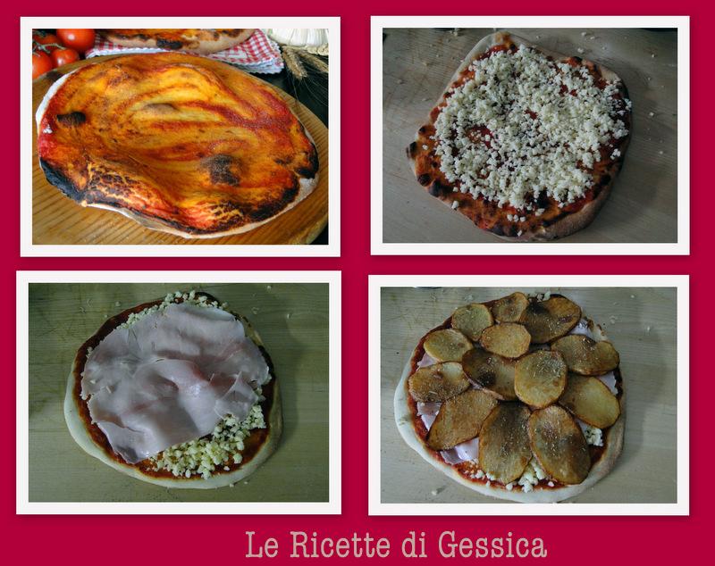 pizza alle patate rosmarino pizzeria in casa