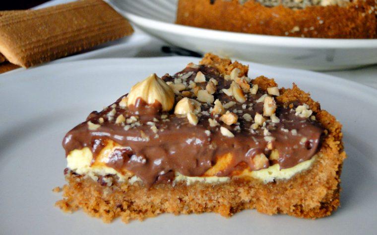 Cheesecake alla Nutella – Ricetta con e senza BIMBY