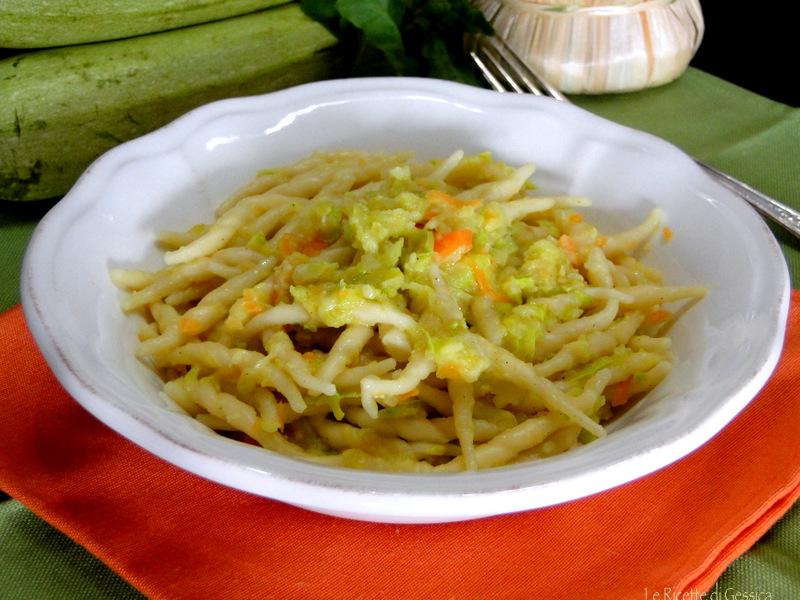 tofie cremose senza panna zucchina e carota