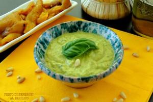 Pesto di Peperoni e basilico – Sugo per pasta