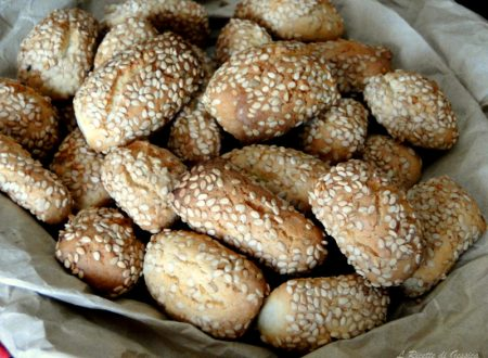 Biscotti Reginelle o Sesamini – Ricetta Siciliana