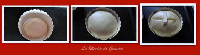incordatura e lievitazione panettone pistacchio bimby