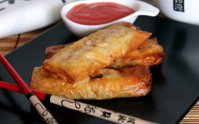 Involtini Primavera Cinesi – Cotti al forno o fritti