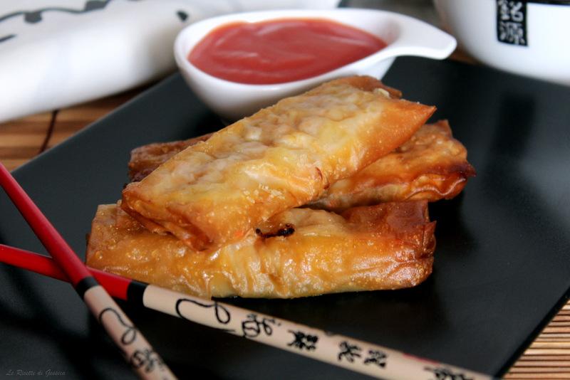 Involtini Primavera Cinesi - Cotti al forno o fritti
