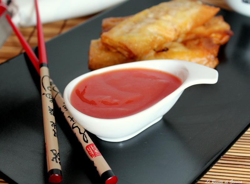 Salsa agrodolce cinese le ricette di gessica for Una salsa da cucina cinese
