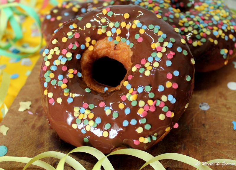 Ciambelle di Carnevale al cioccolato - Anche Bimby con video ricetta